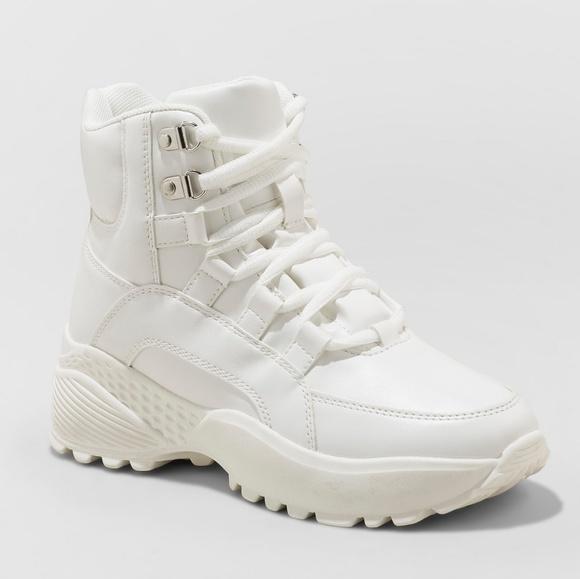 NEW Wild Fable White Corene Chunky Sneaker High NWT